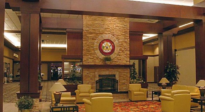 Northern Lights Casino Hotel Lobby