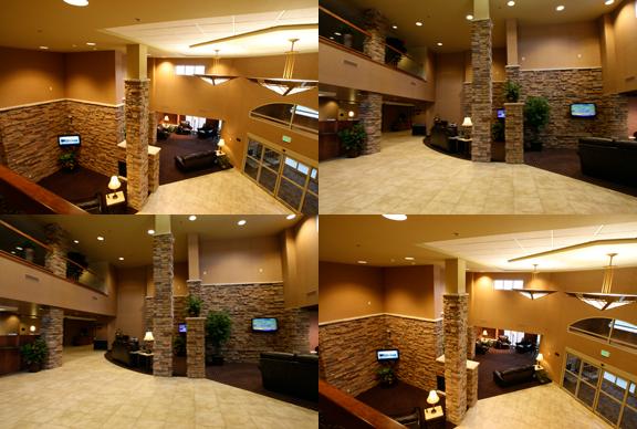 Prairie's Edge Casino Hotel Lobby