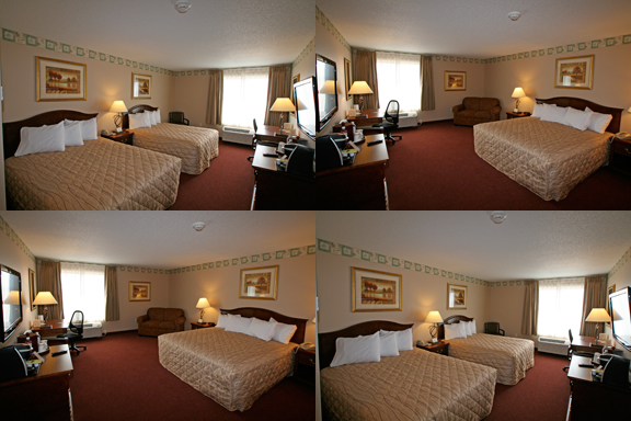 Prairie's Edge Casino Hotel Room
