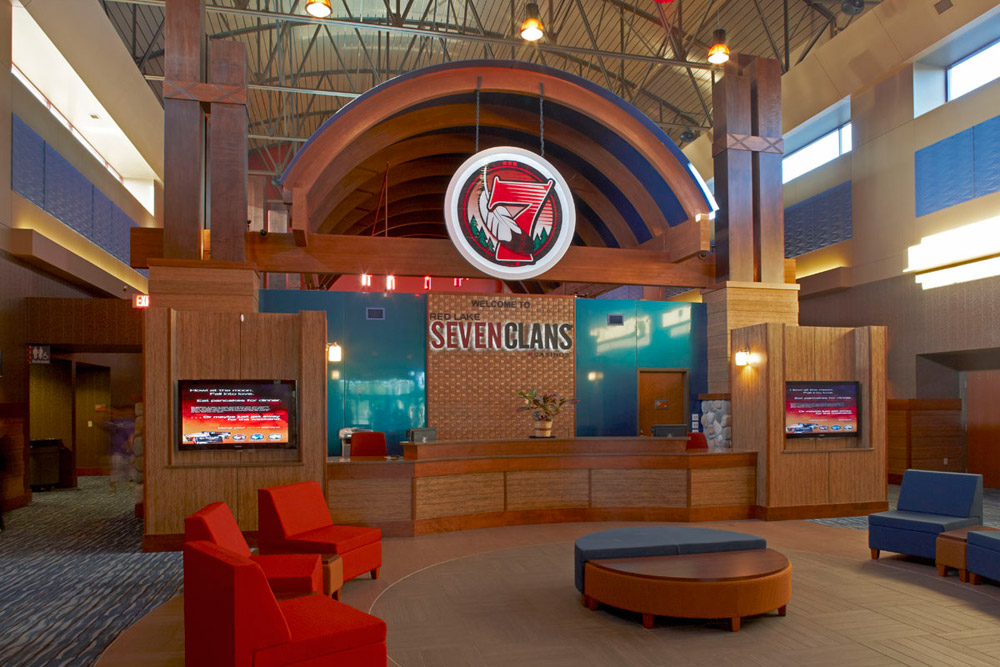 Seven Clans Casino - Red Lake Hotel Lobby