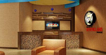 Seven Clans Casino - Warroad Hotel Lobby