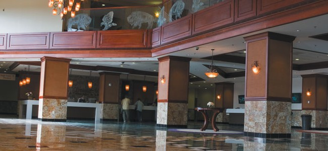 Treasure Island Casino Hotel Lobby